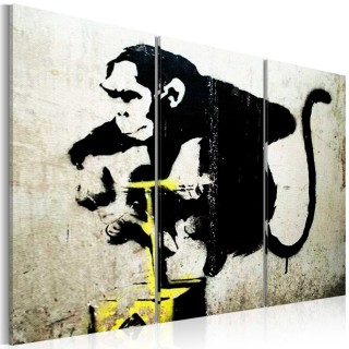 Πίνακας - Monkey TNT Detonator by Banksy