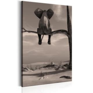 Πίνακας - Elephant in the Desert