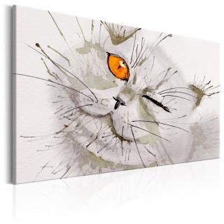 Πίνακας - Grey Cat