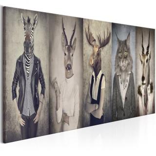 Πίνακας - Animal Masks