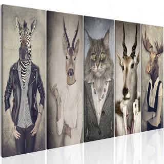 Πίνακας - Animal Masks I