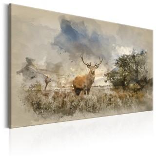 Πίνακας - Deer in Field