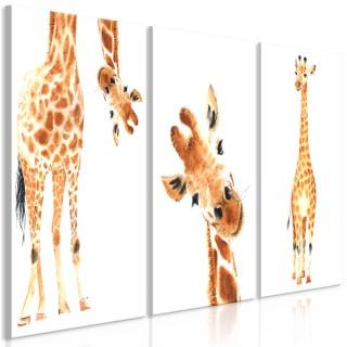 Πίνακας - Funny Giraffes (3 Parts)