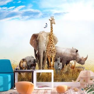 Αυτοκόλλητη φωτοταπετσαρία - Fauna of Africa