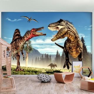Φωτοταπετσαρία - Fighting Dinosaurs
