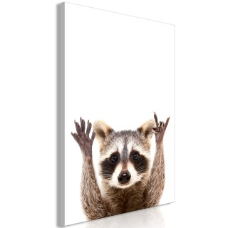 Πίνακας - Raccoon (1 Part) Vertical