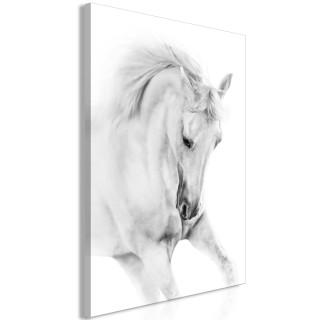 Πίνακας - White Horse (1 Part) Vertical