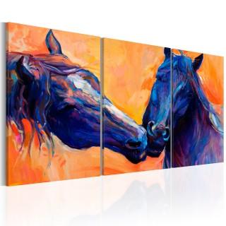 Πίνακας - Blue Horses