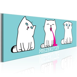 Πίνακας - Miezekotze: Cat Trio (Blue)