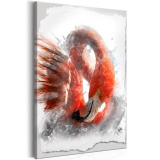 Πίνακας - Red Flamingo