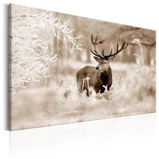 Πίνακας - Deer in Sepia