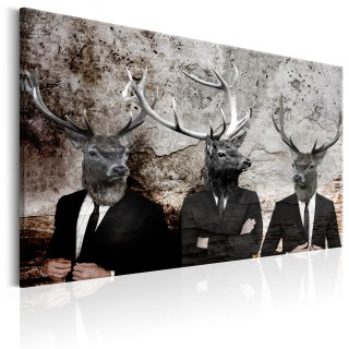 Πίνακας - Deer in Suits