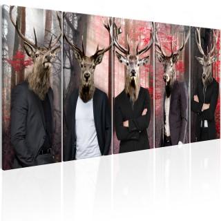 Πίνακας - People in Masks
