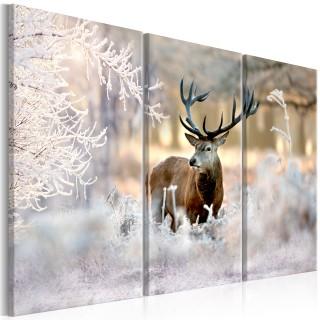 Πίνακας - Deer in the Cold I