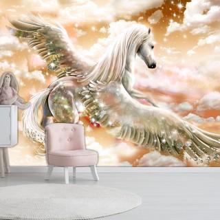 Φωτοταπετσαρία - Pegasus (Orange)