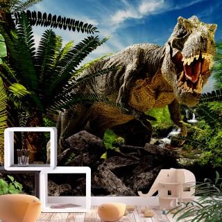 Φωτοταπετσαρία - Angry Tyrannosaur