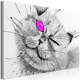 Πίνακας - Happy Look (1 Part) Wide Pink