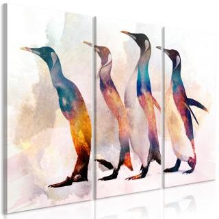 Πίνακας - Penguin Wandering (3 Parts)