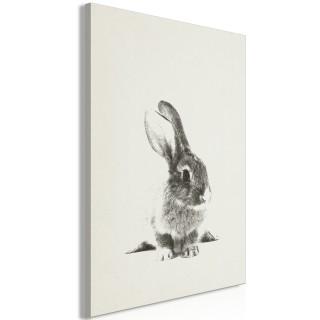 Πίνακας - Fluffy Bunny (1 Part) Vertical