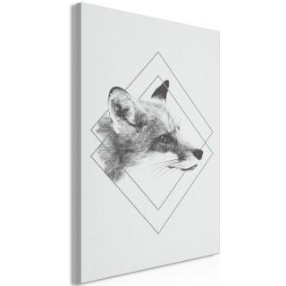 Πίνακας - Clever Fox (1 Part) Vertical