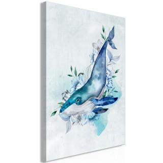 Πίνακας - Mr. Whale (1 Part) Vertical