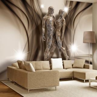 Αυτοκόλλητη φωτοταπετσαρία - In marble embrace