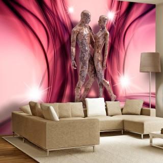 Αυτοκόλλητη φωτοταπετσαρία - Marble dance