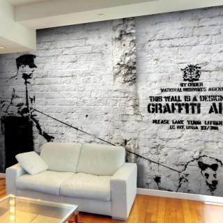 Φωτοταπετσαρία - Banksy - Graffiti Area