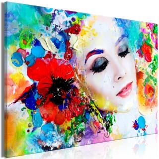 Πίνακας - Colourful Thoughts (1 Part) Wide