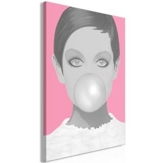 Πίνακας - Bubble Gum (1 Part) Vertical