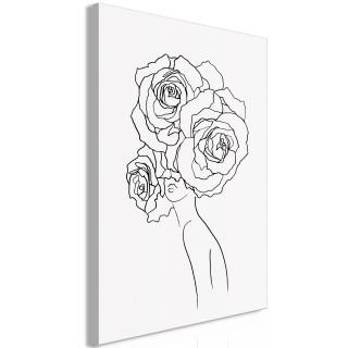 Πίνακας - Fancy Roses (1 Part) Vertical