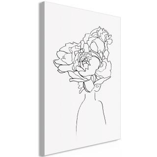 Πίνακας - Above the Flowers (1 Part) Vertical
