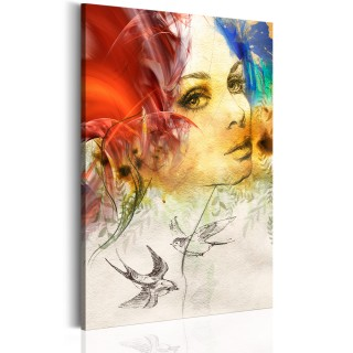 Πίνακας - Fiery Lady