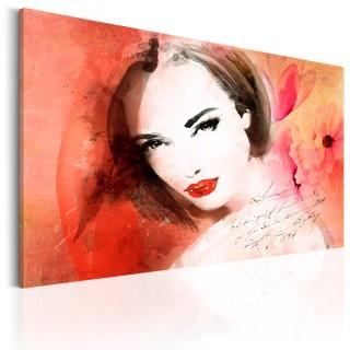 Πίνακας - Crimson Lady