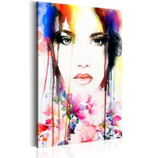 Πίνακας - Colourful Lady