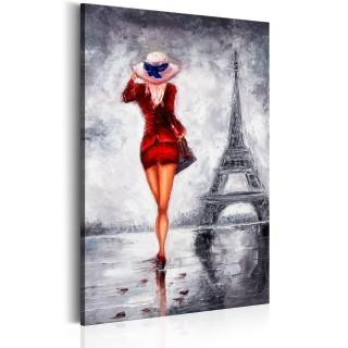 Πίνακας - Lady in Paris