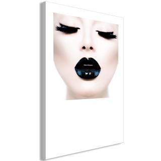 Πίνακας - Black Lips (1 Part) Vertical
