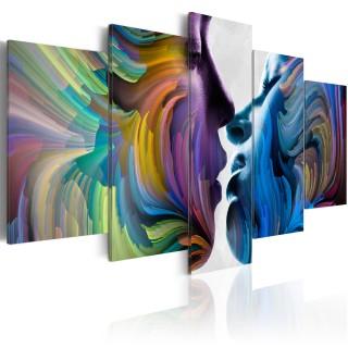 Πίνακας - Kiss of Colours