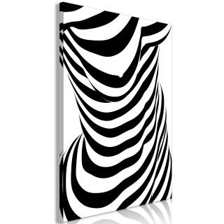 Πίνακας - Zebra Woman (1 Part) Vertical