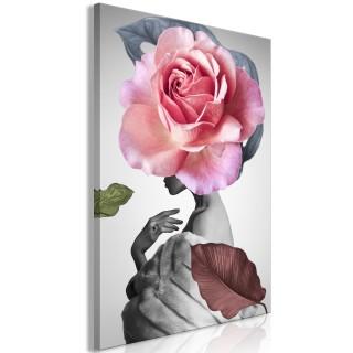 Πίνακας - Rose and Fur (1 Part) Vertical
