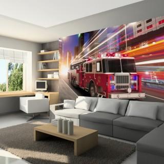 Φωτοταπετσαρία - Fire truck