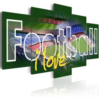 Πίνακας - I Love Football