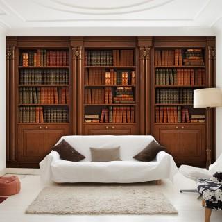 Αυτοκόλλητη φωτοταπετσαρία - Elegant Library