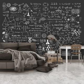 Φωτοταπετσαρία - Science on Chalkboard