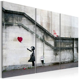 Πίνακας - Girl With a Balloon by Banksy