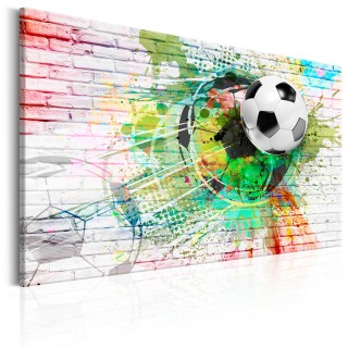 Πίνακας - Colourful Sport (Football)