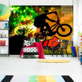 Αυτοκόλλητη φωτοταπετσαρία - Bicycle Tricks