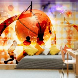Αυτοκόλλητη φωτοταπετσαρία - Basketball