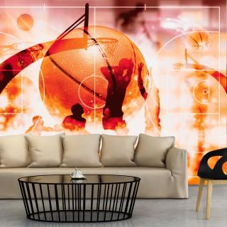 Αυτοκόλλητη φωτοταπετσαρία - My Sport: Basketball