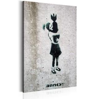 Πίνακας - Bomb Hugger by Banksy